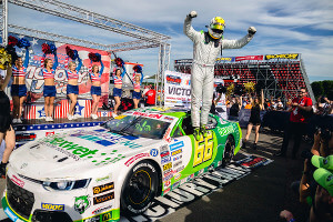 From the back to Victory Lane: Sorensen wins a fantastic ELITE 2 Round 5