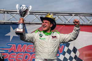 Soerensen crowns himself Prince of Brands Hatch