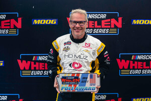 Jacques Villeneuve grabs first ever NWES pole position