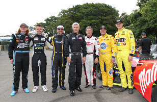 A new record and a fabulous show for the Euro Nascar at Goodwood